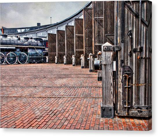 The Roundhouse Canvas Print