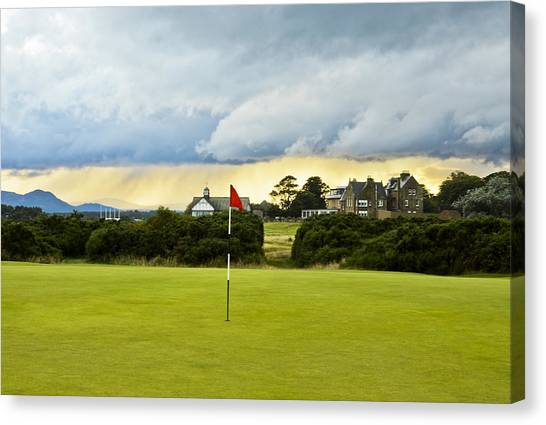 The Royal Dornoch Scotland Canvas Print
