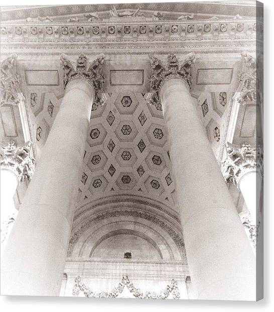 Romanesque Art Canvas Print - The Royal Exchange Roof. #royal by Luis Aviles