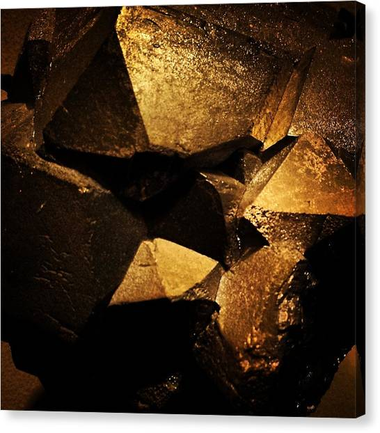 Gemstones Canvas Print - The Ruins by David Lubetsky