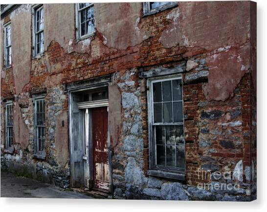 The Ruins Of Art Canvas Print by Steven Digman