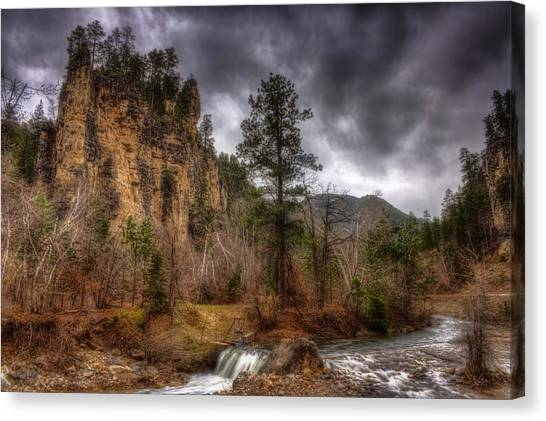The Run Off Canvas Print by Michele Richter