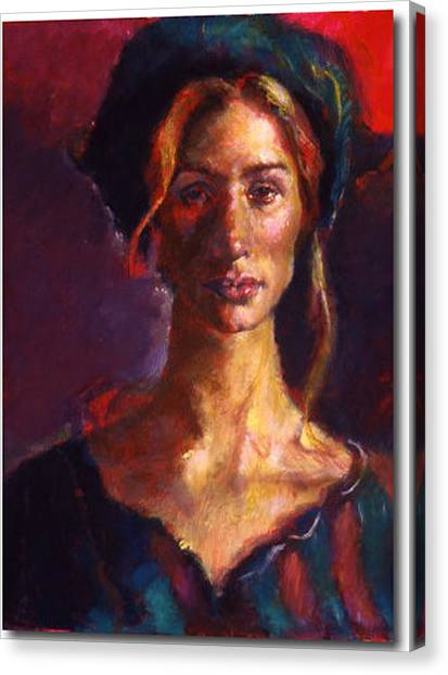 The Russian Woman Canvas Print