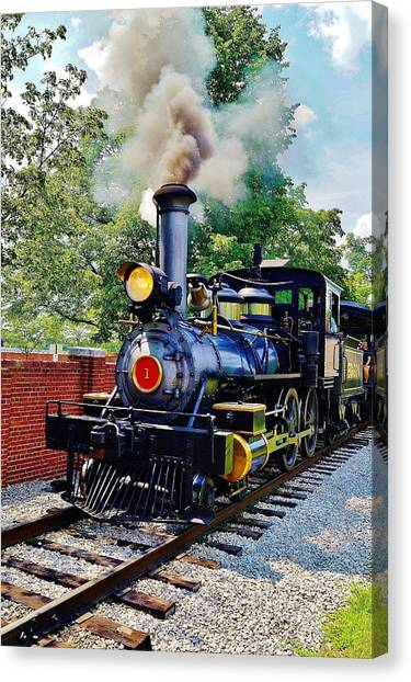 The Rxr At Greefield Village Canvas Print