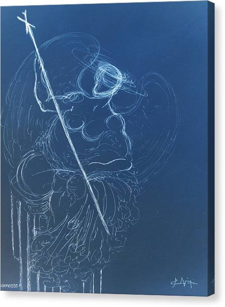 The Sacred Feminine  Canvas Print