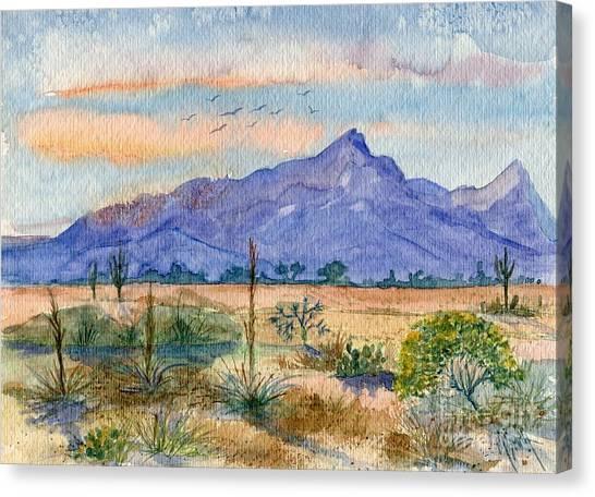 The San Tans Canvas Print