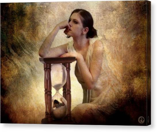 The Sandglass Canvas Print by Gun Legler
