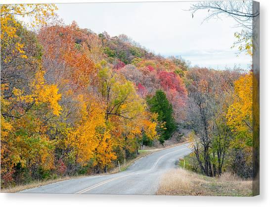 The Scenic Drive Canvas Print