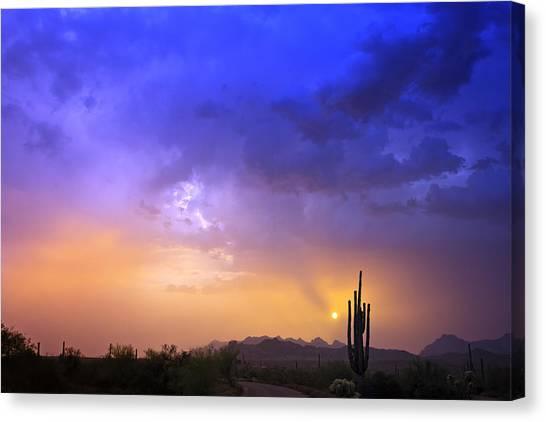 The Scent Of Rain Canvas Print