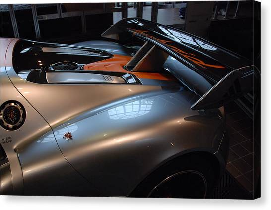 The Sculptured Rear 918 R S R Canvas Print