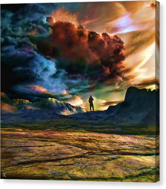 The Search For Eternal Truth Canvas Print