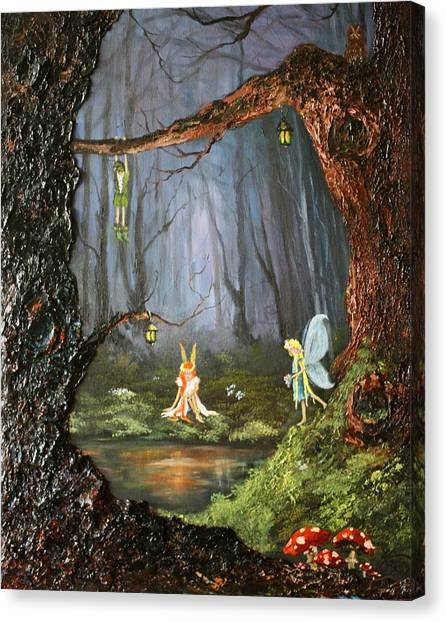 The Secret Forest Canvas Print