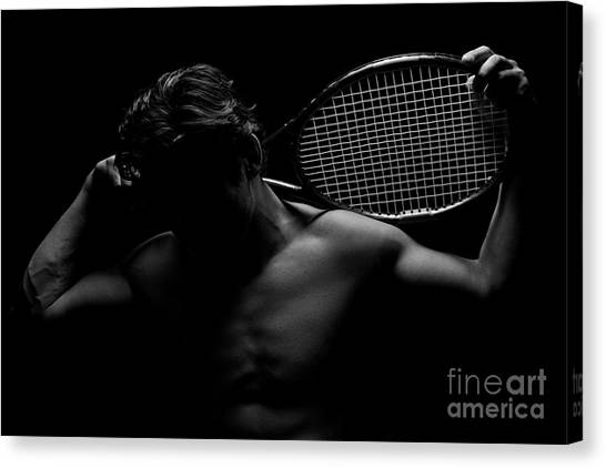 The Shadowed Player Canvas Print
