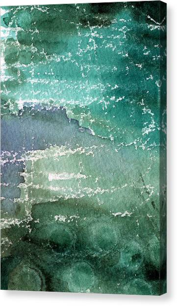 Bubbles Canvas Print - The Shallow End by Linda Woods