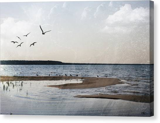 The Shallows At Whitefish Bay Canvas Print