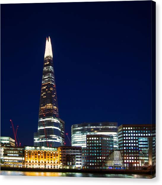 The Shard London Canvas Print by Wayne Molyneux