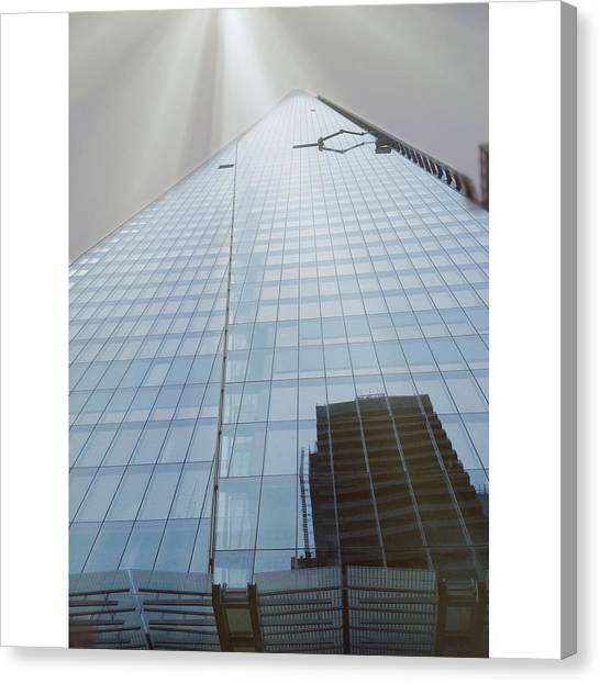The Shard Canvas Print by Maeve O Connell