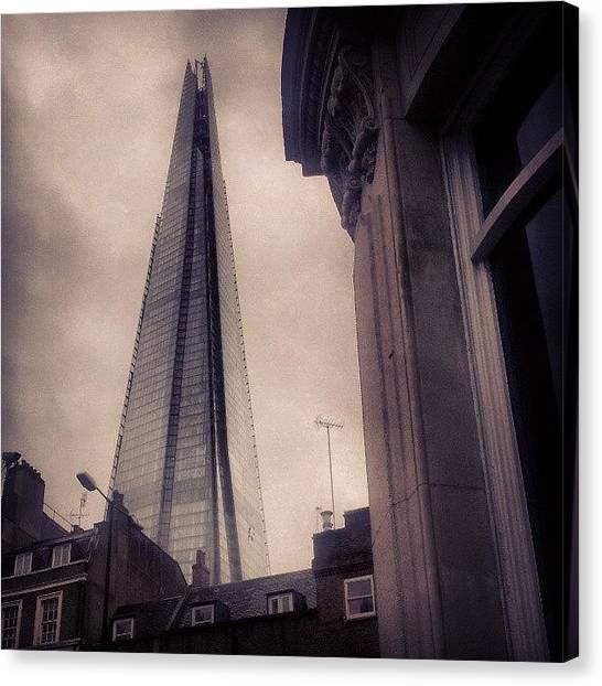 Persians Canvas Print - The Shard On Route Home #british by Mohsen Khan   Alexander Pathan Yusufzai