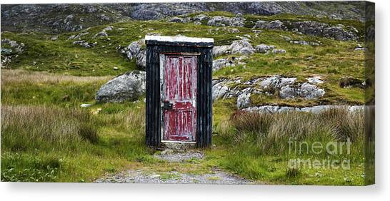Moorland Canvas Print - The Shed by Tim Gainey