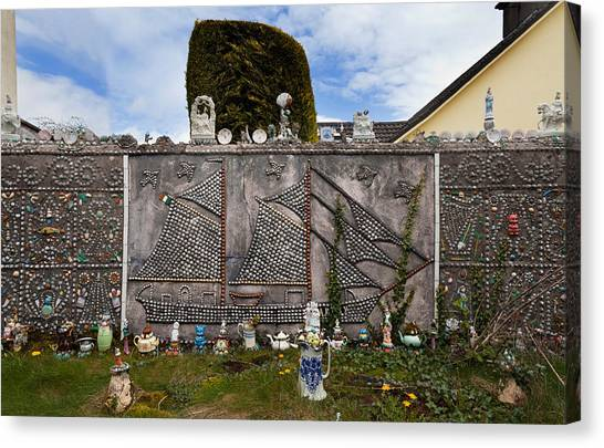 Waterford Canvas Print - The Shell Cottage In Abbeyside by Panoramic Images