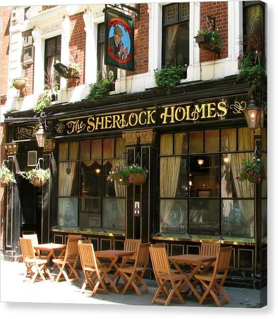 The Sherlock Holmes Canvas Print