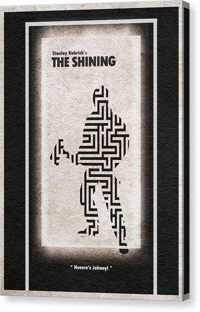Jack Nicholson Canvas Print - The Shining by Inspirowl Design