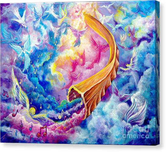 The Shofar Canvas Print