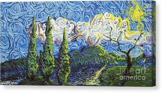 The Shores Of Dreams Canvas Print