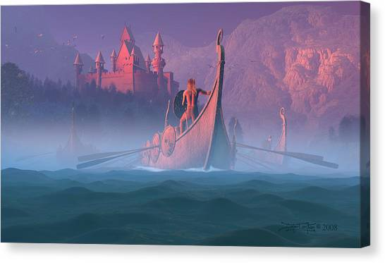 The Shores Of Valhalla Canvas Print