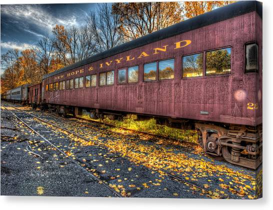 The Siding Canvas Print