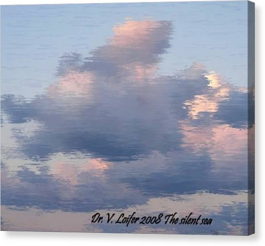 The Silent Sea Canvas Print by Dr Loifer Vladimir