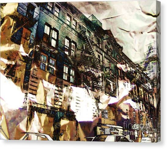 The Silver Factory / 231 East 47th Street Canvas Print