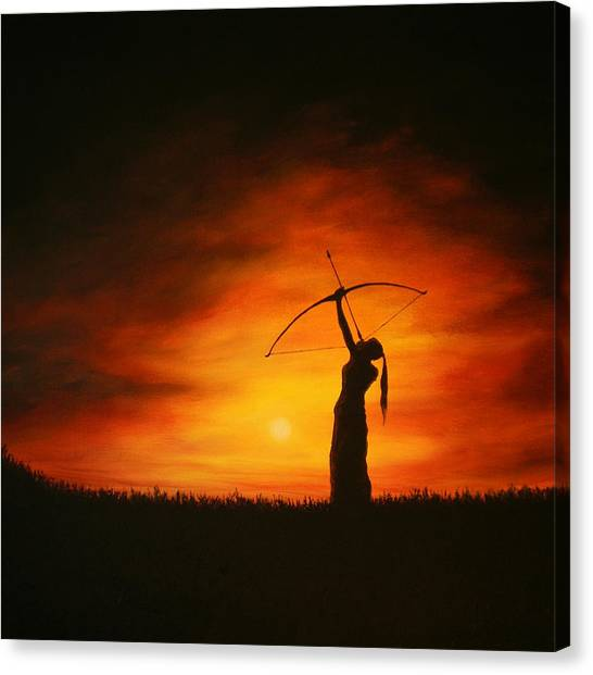 The Simple Act Of Aiming High Canvas Print