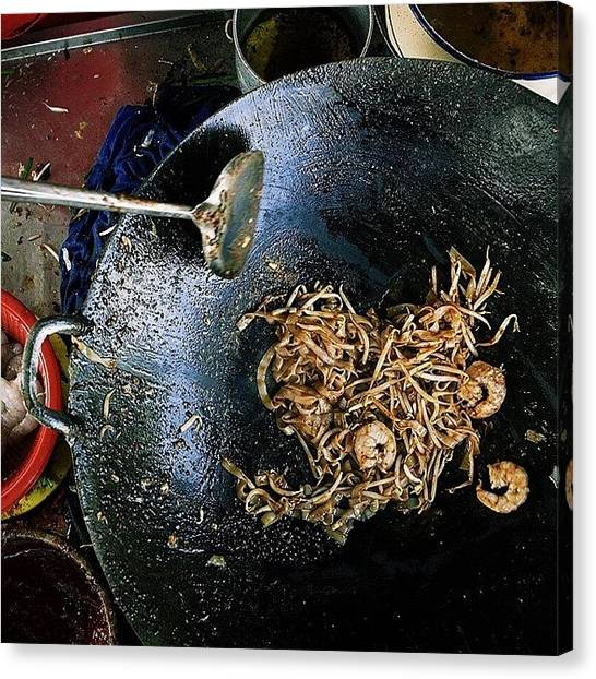 Georgetown University Canvas Print - The Simple Things In Life. Char Koay by David  Hagerman