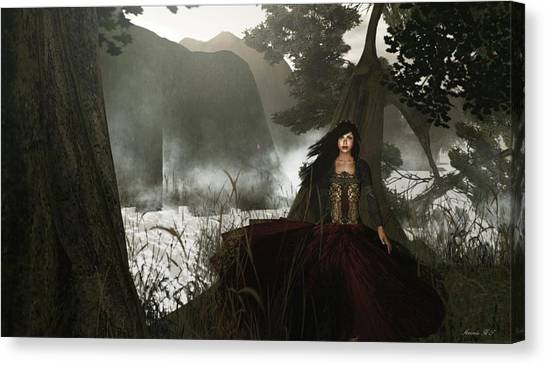 The Siren's Isle Canvas Print