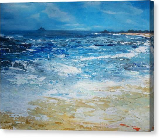 The Skellig Islands Canvas Print