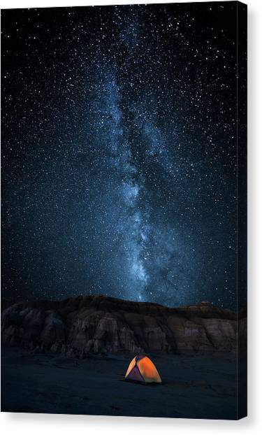 Sleep Canvas Print - The Sky Is My Blanket by John Fan