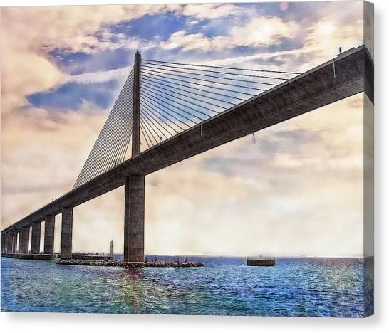 The Skyway Canvas Print
