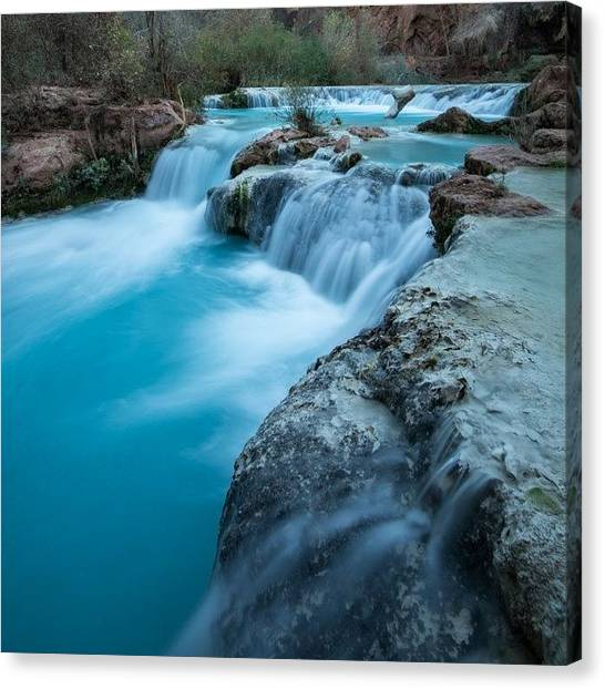 Grand Canyon Canvas Print - Very Blue Water by Tiffany Wuest