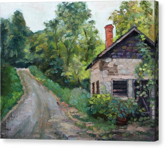 The Smokehouse Canvas Print