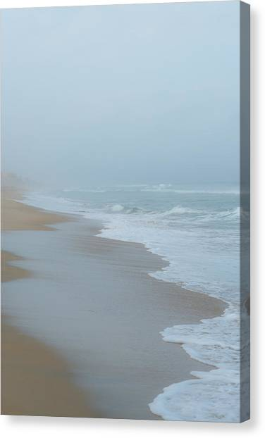 The Soft Sea Canvas Print by Joseph Smith