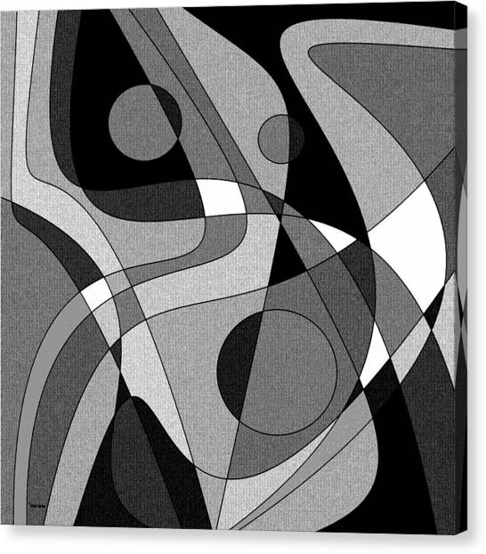 The Soloist - Black And White Canvas Print