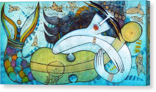 The Song Of The Mermaid Canvas Print