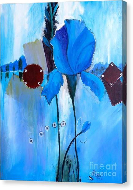 The Sound Of Blue Canvas Print