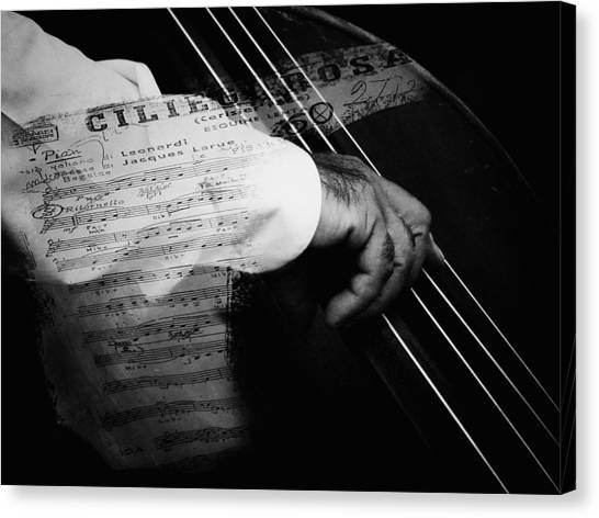 The Sound Of Memory Canvas Print