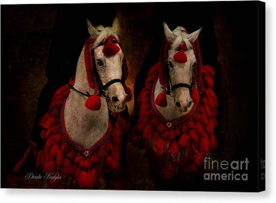 The Sounds Of Desert Canvas Print