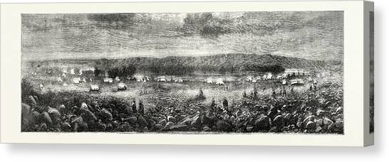 South african culture canvas print the south african diamond fields by south african school