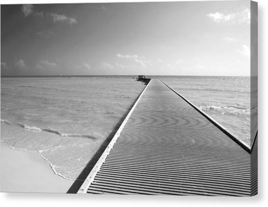 The Southernmost Pier Canvas Print