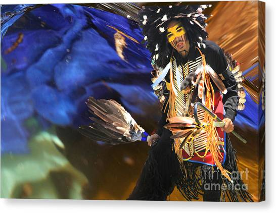 The Spirit From Above Canvas Print