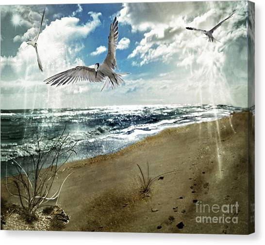 The Spirit Of Flight Canvas Print